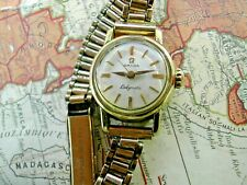 1959 OMEGA LADYMATIC SEAMASTER WATCH, AUTOMATIC, RUNS WELL SERVICED CALIBER 455.