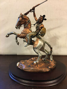 Crazy Horse Statue, Christopher Pardell Art Sculpture, Legends, Ltd Bronze 1992