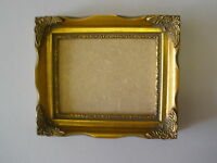 """5X4 SHABBY CHIC ORNATE 1""""  GOLD PICTURE FRAME"""
