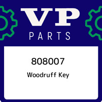 808007 Volvo penta Woodruff key 808007, New Genuine OEM Part