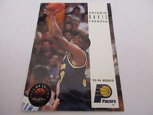 Carte NBA SKYBOX 1993-94 #232 Antonio Davis Indiana Pacers
