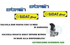 VALVOLA EGR ALFA ROMEO 159 OPEL ASTRA H ZAFIRA B 1.9 CDTI JTD 100/101/115/120 CV