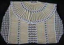 Antique Glass Beaded Purse Czechoslovakia Nice Long Glass Beads