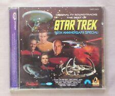 BEST OF STAR TREK 30th Anniversary Special ENHANCED CD TV SOUNDTRACK GNPD 8053