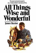 All Things Wise and Wonderful Hardcover James Herriot