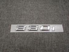 Chrome Trunk Number Letters Emblem Emblems Badge Badges Sticker for BMW 330i