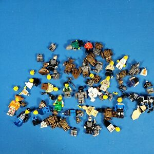 Lot Of Misc. Minifigures And Parts 80pcs