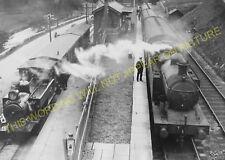 Waterhouses Railway Station Photo. North Staffs & Leek & Manifold Railways. (5)
