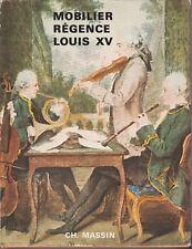 M. Burckhardt - MOBILIER REGENCE LOUIS XV -