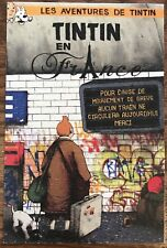 DRAN Tintin En France AUTHENTIC Mini Print Banksy Kaws FAILE Paris Pop up Pejac