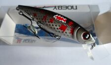 Noeby leurre pêche mer rivière 8cm 9,2g nage jusqu'à 2m couleur custom