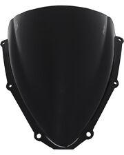 06-07 GSXR 600 750 Black PUIG Double Bubble Windshield Windscreen 4055N
