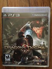 Dragon's Dogma (Sony PlayStation 3, 2012) Complete