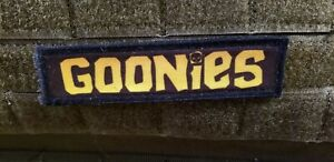 1x4 Goonies Logo Morale Patch Funny Tactical Military USA flag Hook Badge