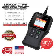 LAUNCH OBD2 Scanner CR319 Automotive Check Engine Code Reader O2 Sensor EVAP DTC
