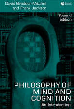 Philosophy of Mind and Cogniti: An Introduction, Good Condition Book, Jackson, B