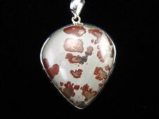 Chohua Jasper Pendant - US Seller, FREE Shipping, FAST Delivery, 925 Pure Silver