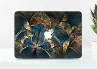 Mosaic Marbled Macbook 12 Air 11 13 Pro 13 15 2018 Top Bottom Printed Case Cover