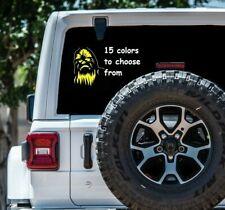 8 Sizes Chewbacca Chewy Car Window Decal Sticker Macbook Tablet Laptop sticker