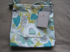 Radley Hand Bag Has a Floral Pattern (peapod Design ) With Tags