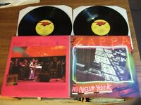 FRANK ZAPPA - ZAPPA IN NEW YORK - UK 2 LP SET DISCREET K 69204 / 1977 EX/ NM