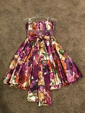 2 Tony Bowls Floral Prom Party Homecoming Dance Pageant Formal Cocktail Dress