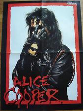 █▬█ Ⓞ ▀█▀   Ⓗⓞⓣ  Alice Cooper Ⓗⓞⓣ  Suicidal Tendencies Ⓗⓞⓣ 1 Poster 41 x 55 cm