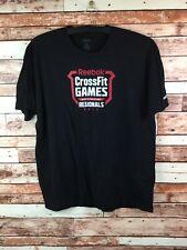 "REEBOK Men's 2012 Crossfit Games Regionals Competitor "" Media"" T-Shirt Size XL"
