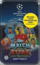2016-17 Topps Match Attax Trading Card Game UEFA Champions League Collectors Tin