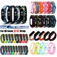 For Xiaomi Mi Band 4 3 Silicone Bracelet Wrist Strap Replacement 60 Styles LOTS