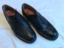 Genuine British Army Brogues Black 8M Highland broken in, good soles