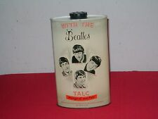 RARE ORIGINAL VINTAGE BEATLES 1960'S MARGO OF MAYFAIR TALC TIN