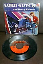 """LORD SUTCH AND HEAVY FRIENDS Baby Come Back +3 1970 MEXICO 7"""" EP Led Zeppelin"""