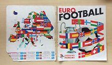 FIGURINE PANINI - EURO FOOTBALL - SOLO COPERTINA - ONLY COVER ORIGINAL - REMOVED