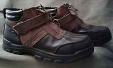 "Polo-Ralph Lauren ""Conquest"" ZIp-Up w/ Strap Leather Boot. Size 4. VG condition"