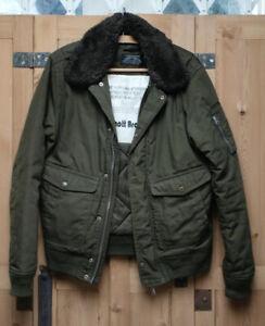 Schott military flight jacket Large