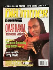 Modern Drummer Magazine May 2000  Omar Hakim