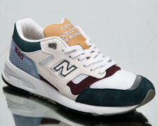 New Balance 1530 Made in UK Men's White Blue Grey Low Lifestyle Sneakers Shoes