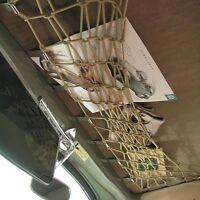 VW Käfer -64 Gepäcknetz für das Dach, den Dachhimmel, Farbe: Bambus (01-029)