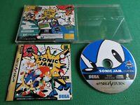 Saturn Sonic Jam Japan Import Sega SS