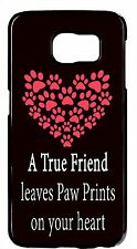 New Paw Print Paws Cute Case For Samsung Galaxy & Note Rubber TPU/Hard Cover