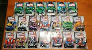 Maisto Marvel Diecast Lot, Ultimate Marvel Series 1, Series 2, Hulk Hunt