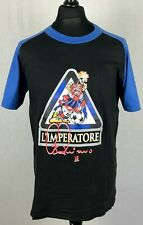 Adriano Inter Milan L'Imperatore T-Shirt Men's Size M Football Soccer Legend