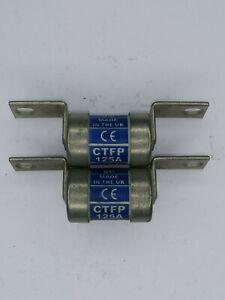 LAWSON HRC Fuselinks CTFP125A  1X 125Amp HRC Fuses