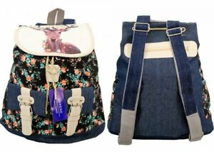 Boho Canvas Backpack Rucksack Women Travel School Laptop Girls Casual HandBag