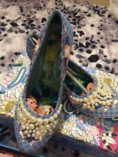 Irregular Choice Textile Low (0.5-1.5 in.) Women's Heels