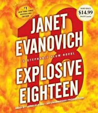 Explosive Eighteen by Janet Evanovich (CD-Audio, 2013)