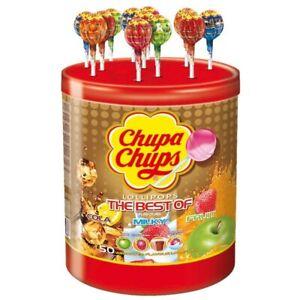 (11,03€/1kg) Chupa Chups The Best Of Lutscher, Lolly, 50 Stück