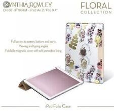 "Cynthia Rowley Folio Pedal Design Case~9-10"" inch Tablet/iPad Air/Air 2"