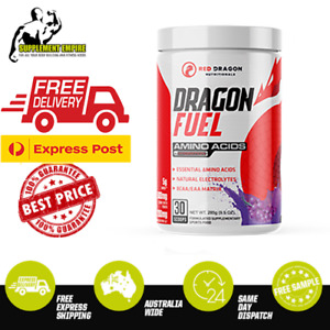 Red Dragon Dragon Fuel BCAA EAA Essential Amino Acids Recovery Xtend